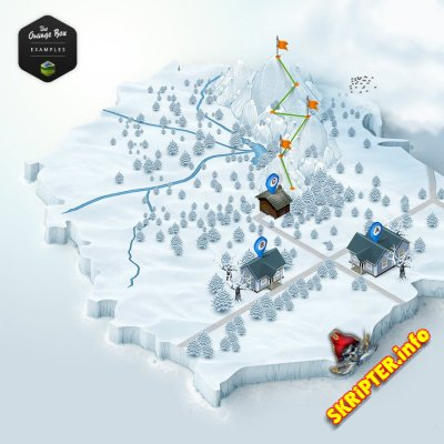 3D Map Generator 2 - Isometric