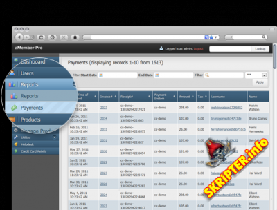 aMember Pro v4.5.1 Nulled Rus