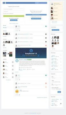 EasySocial 1.3.22 Pro Rus