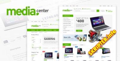 MediaCenter v2.5.0 - шаблон интернет магазина для WordPress