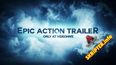 Epic Action Trailer - Project for After Effects