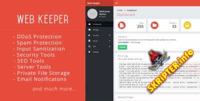 Web Keeper v1.9 - безопасность и оптимизация вашего сайта