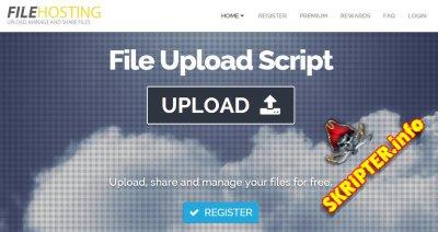 File Hosting Script v.4.0.1 + 6 Plugins
