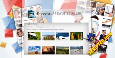 Droppics v3.2.11 Rus - галерея изображений для Joomla