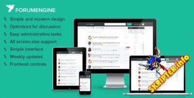 Forum Engine 1.6.3 - тема форума для WordPress
