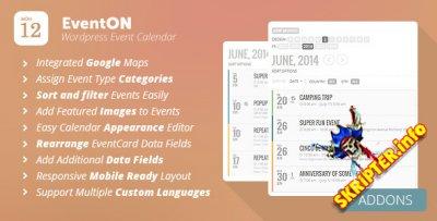 EventOn v2.6.0 - календарь событий для WordPress