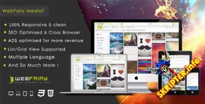 WebFairy Mediat v1.4.1 - скрипт мультимедийного сайта
