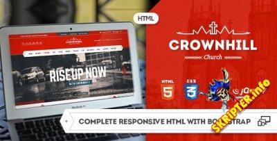HTML шаблон Crownhill