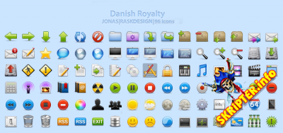 Danish Royalty Icons