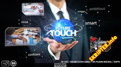 Future Touch v1.0 - Project for After Effects (Videohive)