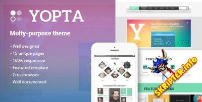 HTML шаблон Yopta