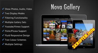 Nova Gallery v1.2 - HTML5 Multimedia Gallery