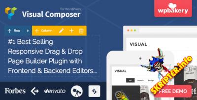 Visual Composer v4.8.0.1 Rus- визуальный конструктор страниц для WordPress