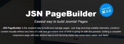 JSN PageBuilder Pro v1.3.5 Rus - универсальный конструктор контента для Joomla