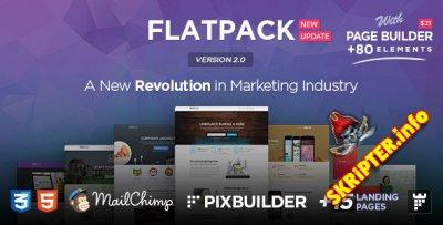 FlatPack v2.0 + Page Builder