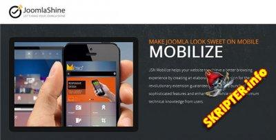 JSN Mobilize Pro v1.3.1 - создание мобильной версии сайта на Joomla