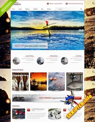 HTML шаблон Fishing