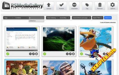 RSMediaGallery Pro v1.9.30 Rus - компонент галереи для Joomla