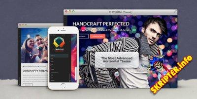 HTML шаблон Play v1.0