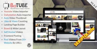BeeTube v2.3.3 - видео шаблон для WordPress