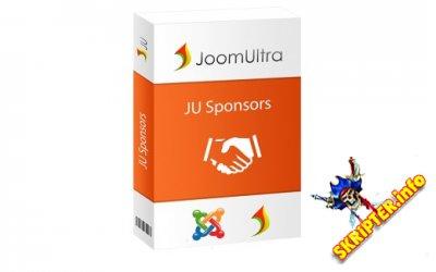 JU Sponsors 1.0.4  - модуль слайдера спонсорских логотипов для Joomla