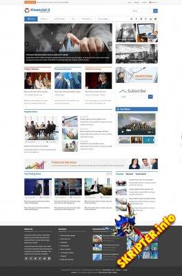 SJ Financial II - шаблон новостного портала для Joomla