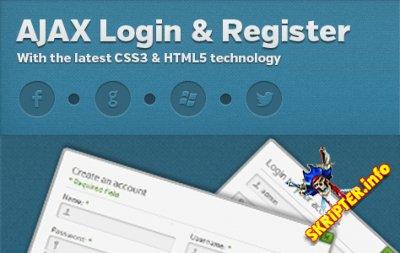 Improved AJAX Login & Register v2.286 - модуль авторизации для Joomla