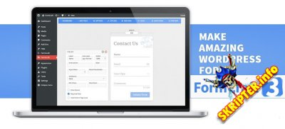 FormCraft v3.2.25 - конструктор форм для WordPress