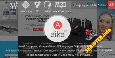 Aaika v3.1.4 - многофункциональный шаблон для WordPress