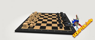 3D шахматная партия созданная на CSS3 и JS
