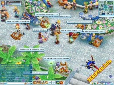 Скрипт онлайн игры Пиратия: DayLight II v2.5