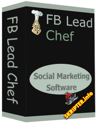 FB Lead Chef 3.0.1 + key (сбор email с групп Facebook)
