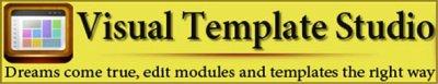 Visual Template Studio v1.1 - Визуальный редактор построения шаблона для Joomla