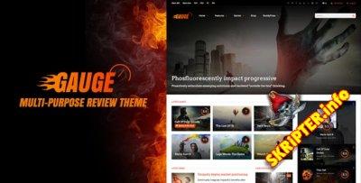 Gauge v6.41 - универсальный шаблон для WordPress