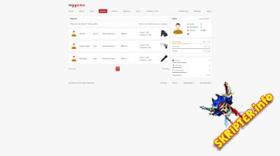 myGame v1.3.5 - платформа для создания браузерной игры