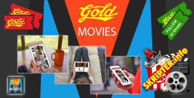 Gold MOVIES v1.0.2 - скрипт для создания видео сайта