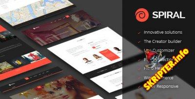 Spiral v1.0.0 - инновационная универсальная тема для WordPress