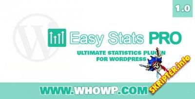 Easy Stats Pro v1.0 - плагин полной статистики для WordPress