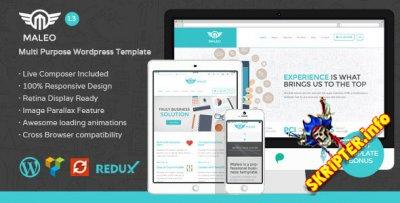 Maleo v1.3 – корпоративный шаблон для WordPress