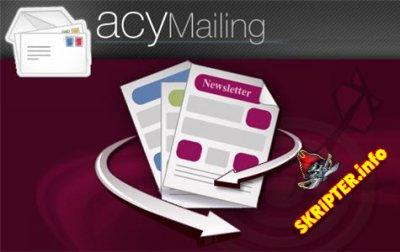 AcyMailing Enterprise v5.10.3 Rus - компонент почтовой рассылки для Joomla