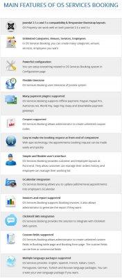 OS Services Booking v2.3.6 Rus - система бронирования услуг для Joomla