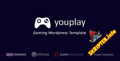 Youplay v1.0.1 - игровой шаблон для Wordpress