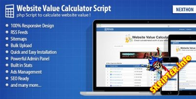 Website Value Calculator Script v2.07