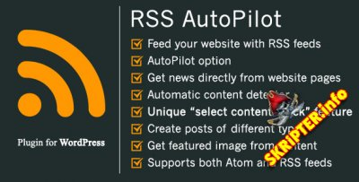RSS AutoPilot v1.4.0 - граббер для WordPress