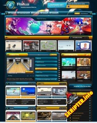 FlashUZ - игровой шаблон для DLE