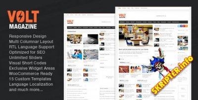 Volt v3.4 - новостной шаблон для WordPress