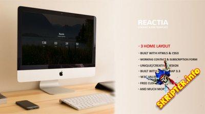 Reactia - offline страница для сайта