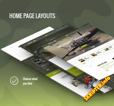 Military v1.1 - военный шаблон для WordPress