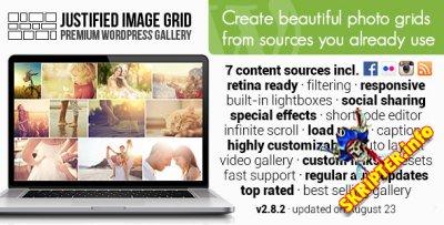 Justified Image Grid v2.8.2 - плагин галереи для WordPress