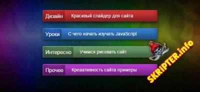 Превью новостей в виде кнопок с помощью CSS3